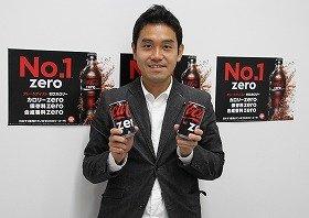 「コカ・コーラ ゼロ」のブランド担当者・助川公太さん