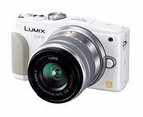 LUMIX「DMC-GF6」(ホワイト)