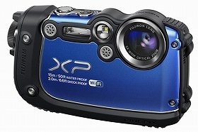 「FinePix XP200」(ブルー)