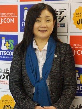 主催社の1つ、イッツ・コミュニケーションズの金井美惠さん