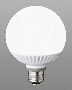 白熱電球のような広がる光(写真は、「LDG17L‐G 電球色」)