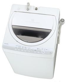 表面が凹凸の洗濯槽「スタークリスタルドラム」が高い洗浄効果を発揮する!(写真は、「AW‐70GM」)