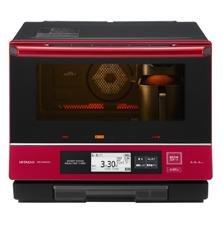 「焼き蒸し調理」も、液晶タッチパネルで簡単に操作(写真は、「MRO‐MBK5000」)