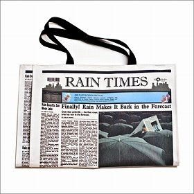 「RAIN TIMES トートバッグ」