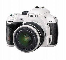 「PENTAX K-50」(ホワイト)