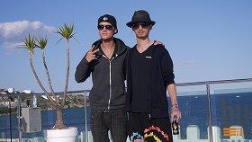 Avicii(左)とYAMATO(右)