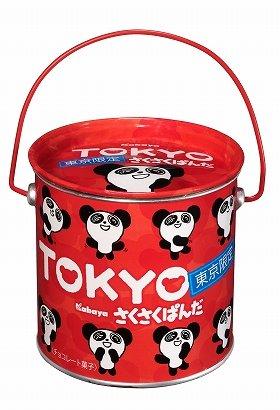 「さくさくぱんだ 東京限定缶」