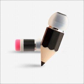 「Magic Pencil イヤホン」(ブラック)