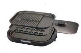 土鍋IH炊飯ジャーの技術が活きている!(写真は、ホットプレートCRC‐A300「これ1台」)