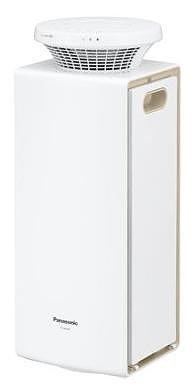 狭いスペースでも設置しやすいスリムなタワー型フォルム