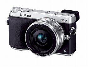 「LUMIX DMC-GX7」(シルバー)