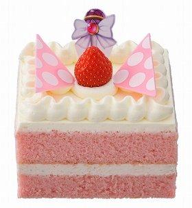 「ハロリのいちごシフォンケーキ」