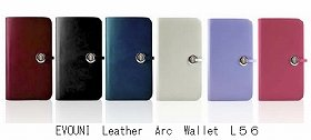 EVOUNI Leather Arc Wallet L56