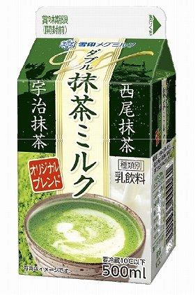 抹茶とミルクのハーモニーを表現
