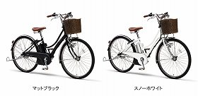 「PAS Ami Special」左がマットブラック、右がスノーホワイト