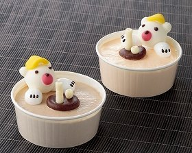 「くま太郎&くま次郎の『風呂あがりアイス』」