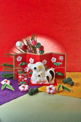 「新春石鹸(午)」