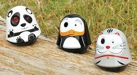 パンダやペンギン、ネコをモチーフにしたアニマル型のデザイン