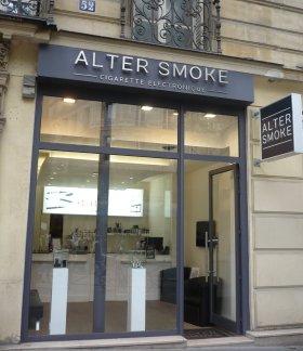 電子タバコメーカーの直営ショップ