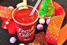 クリスマス限定スムージー「ラズベリーチョコレート」
