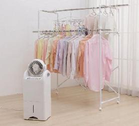 ヒーターの搭載で低温時も衣類乾燥ができる(写真はイメージ)
