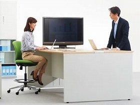 どんなオフィスにもマッチするシームレスなデザイン(写真はイメージ)