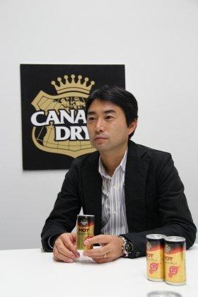 日本コカ・コーラの小笠原一郎さん