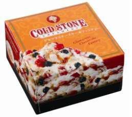 写真は「コールド・ストーン・クリーマリー グラマラスチーズケーキファンタジー」