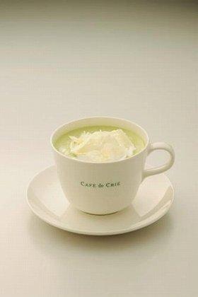写真は「抹茶ホワイトチョコレート」