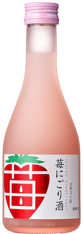 イチゴ風味のにごり酒、冬期限定発売