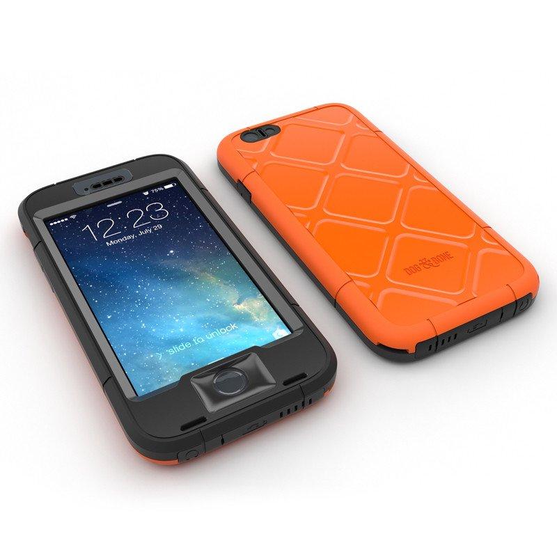 「WETSUIT iPhone6 waterproof rugged case」画面をダイレクトに操作できる防水・防塵のiPhone 6ケース