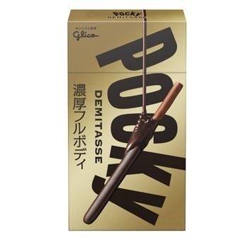 「ポッキー<デミタス>」 カカオ分1.7倍、スマホサイズの濃厚ショートポッキー