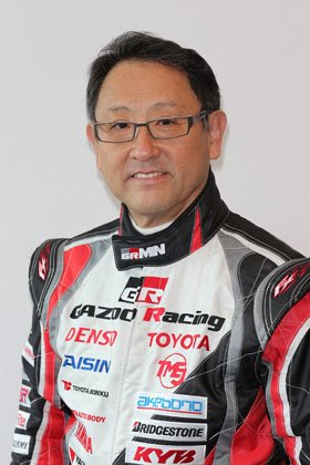 モリゾウことトヨタの豊田章男社長(トヨタ自動車提供)