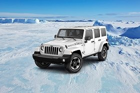 「Jeep Wrangler Unlimited Polar Edition」