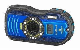 「RICOH WG-4 GPS」(ブルー)