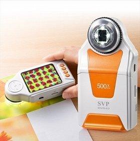 扱いやすいデジタル電子顕微鏡