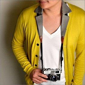 「Collar Camera Strap」(チドリ)