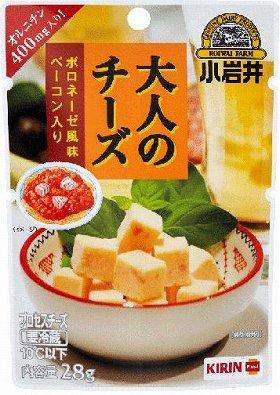 「小岩井 大人のチーズ【ボロネーゼ風味 ベーコン入り】」