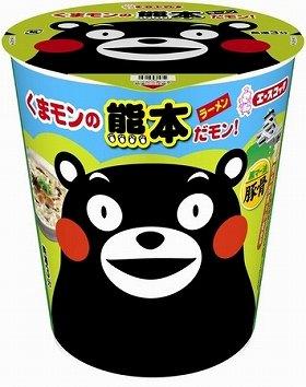 写真は、「くまモンの熊本ラーメンだモン!」