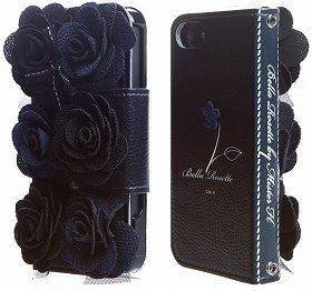 「Mr.H iPhone 5/5s Bella Rosette Diary」