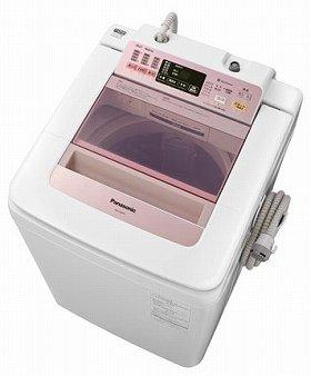 衣類の投入口も大きく、洗濯物の出し入れにかかる負担を軽減(写真は、「「NA‐FA80H1‐P」)