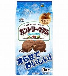 凍らせておいしいカントリーマアム(チョコアイス)