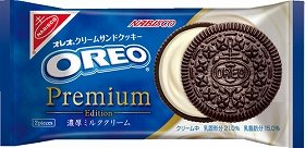 「オレオ プレミアムエディション 濃厚ミルククリーム」