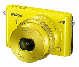 「Nikon 1 S2」標準パワーズームレンズキット(イエロー)