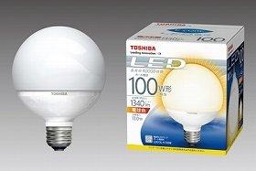 白熱ボール電球と同等のサイズなので、簡単に置き換えられる