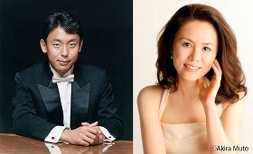 ピアニストの横山幸雄さん(左)と田部京子さん