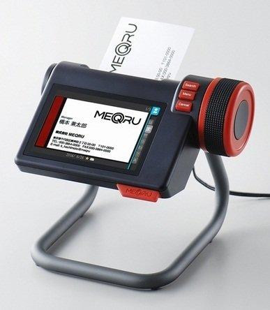デジタル名刺ホルダー「メックル」