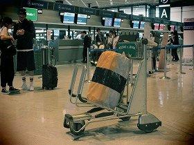 「回転寿司スーツケースカバー」
