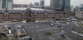 現状の丸の内駅前広場。まもなく首都の玄関口にふさわしい姿に生まれ変わる