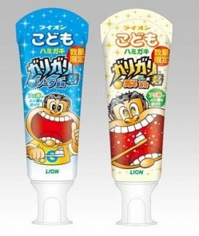 ソーダ香味(左)と梨香味